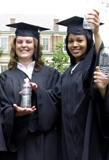 graduation gown, graduation robe, souvenir gown- Greenweaver