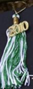 graduation tassel keyrings in your colors