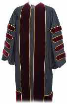 President custom academic regalia made in USA