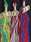 graduation tassels, custom color souvenir tassels
