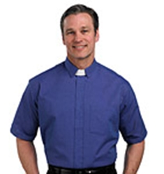 Indigo SSTAB clergy shirt