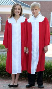 2 Color Graduation Gowns From Grad Goods More Souvenir Gown For